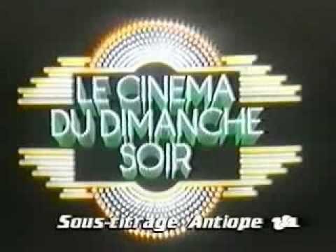 Le Cinema du Dimanche Soir... Ce générique sonnait l'heure d'aller se coucher et annonçait la fin du weekend ! ☹️