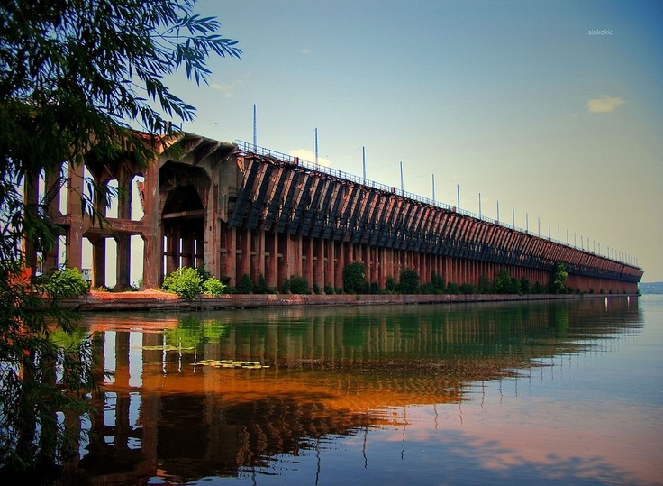 Soo Line Ore Dock. Ashland, Wisconsin - These are gone now. Only remnants remain.