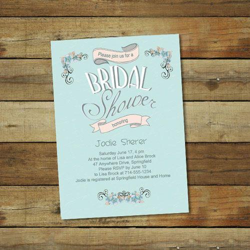25 best ideas about Cheap bridal shower invitations – Bridal Shower Invitations Tea Party Theme