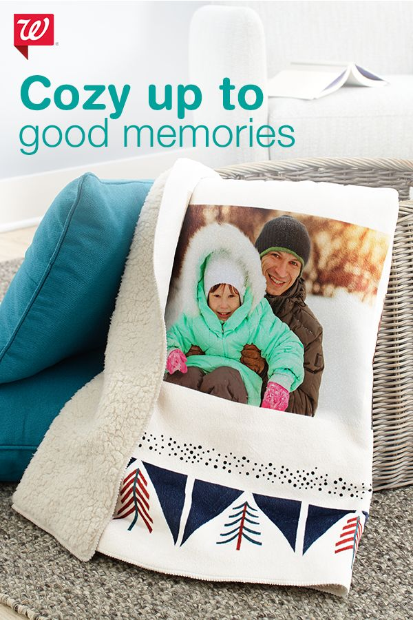 With personalized photo gifts, you can turn your favorite digital photos into great gifts for anyone on your list. Turn your prized memories into blankets, pillows, mugs, magnets and more.