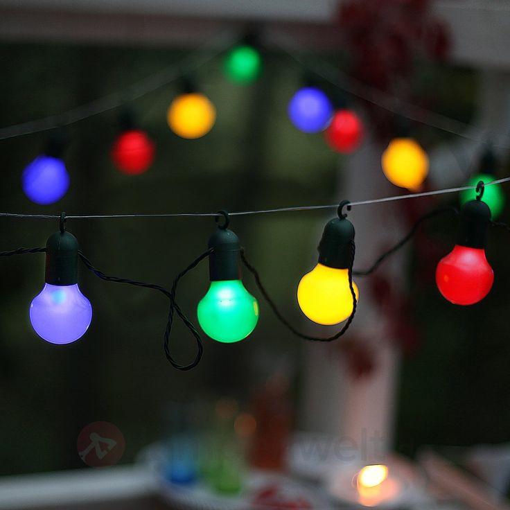 17 best ideas about led lichterkette bunt on pinterest. Black Bedroom Furniture Sets. Home Design Ideas