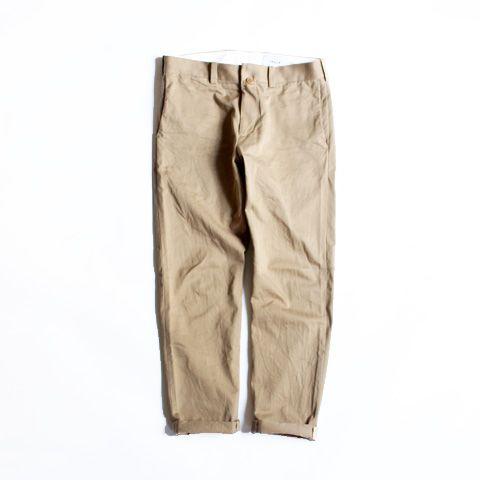 YAECA CHINO CLOTH PANTS -NARROW