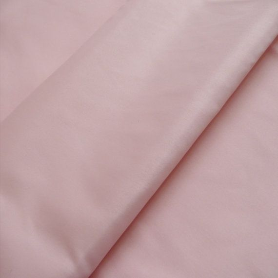 Baby Pink Lining Fabric 150cm wide   Sold by the metre F3