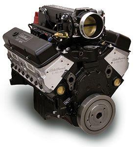 Edelbrock.com - Crate Engines - Small-Block Chevy - Hi-Torq 383 Pro-Flo XT EFI 9.5:1 - (408 HP & 450 TQ)