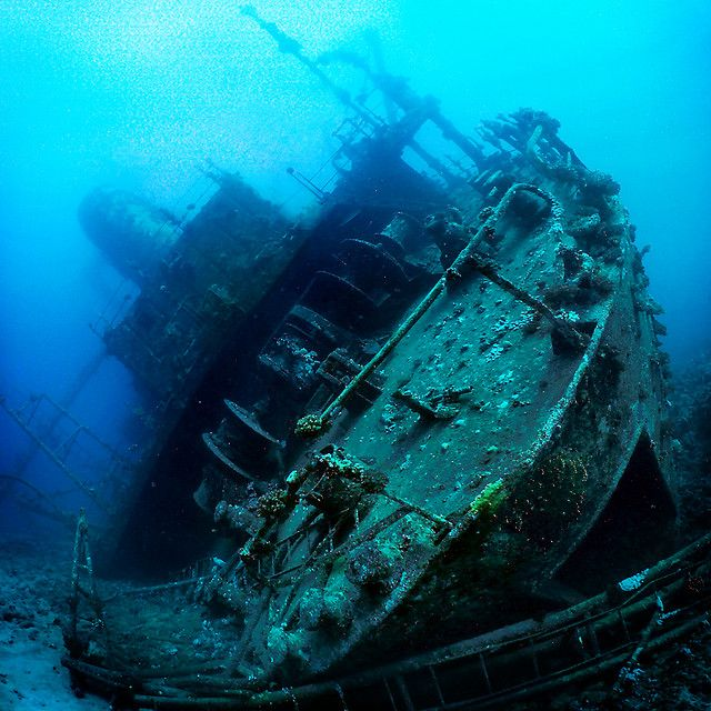 Ghost Fleet Of Truk Lagoon. Prior To The Start Of World