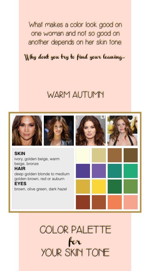 Warm Autumn Color Palette Soft Autumn Color Palette True Spring Color Palette Warm Spring Color Palette