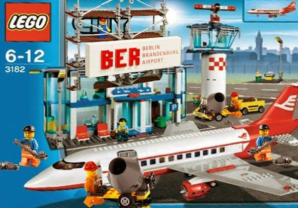 """Der Spielzeughersteller Lego beweist wieder einmal, dass er auf der Höhe der Zeit ist. Heute stellte das dänische Unternehmen eine speziell auf den deutschen Markt zugeschnittene neue Serie vor. Unter dem Titel """"Gescheiterte deutsche Großprojekte"""" können bald auch Kinder vergeblich versuchen, den Berliner Großflughafen BER, den unterirdischen Bahnhof Stuttgart21 sowie die Hamburger Elbphilharmonie zu bauen. :))) #LOL"""