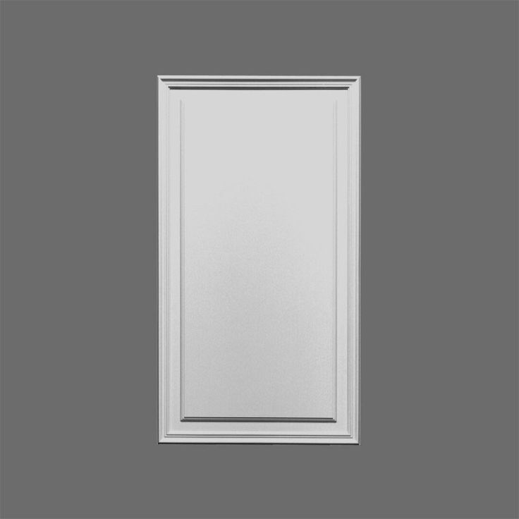 "D507 Door Panel, Primed White. Width: 21-5/8"" Height: 35-5/8"" ___________________________  Request Your FREE Catalog: http://form.outwater.com/oracusa.php"