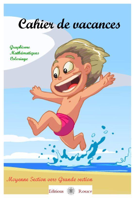 Petites activités pour les vacances d'été, parfaites pour les élèves du préscolaire.