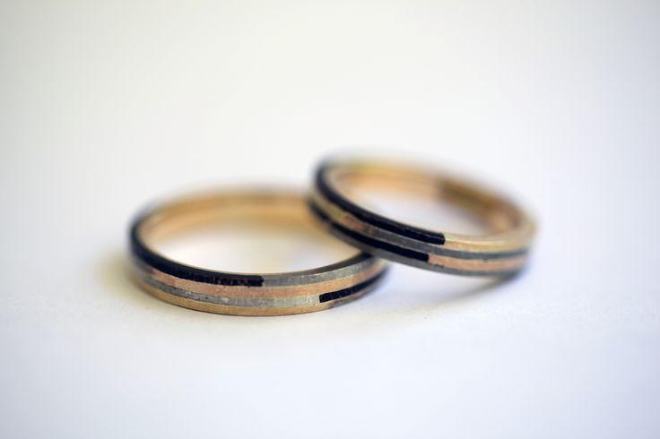 Nuevas alianzas, 50 años de casados, 4 hijos, 11 nietos. Wedding rings. Iacov Azubel.