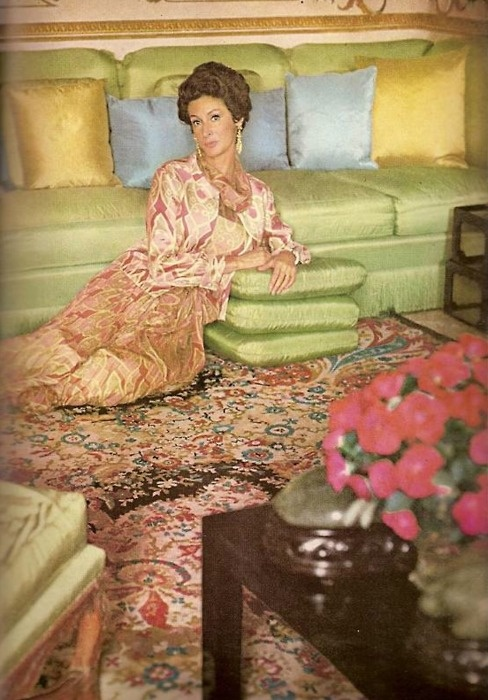 Marella Agnelli in Vogue, October, 1967