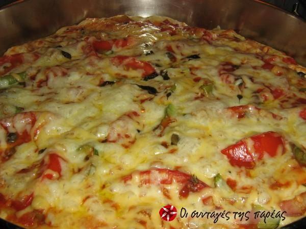Αρωματική ζύμη πίτσας #sintagespareas