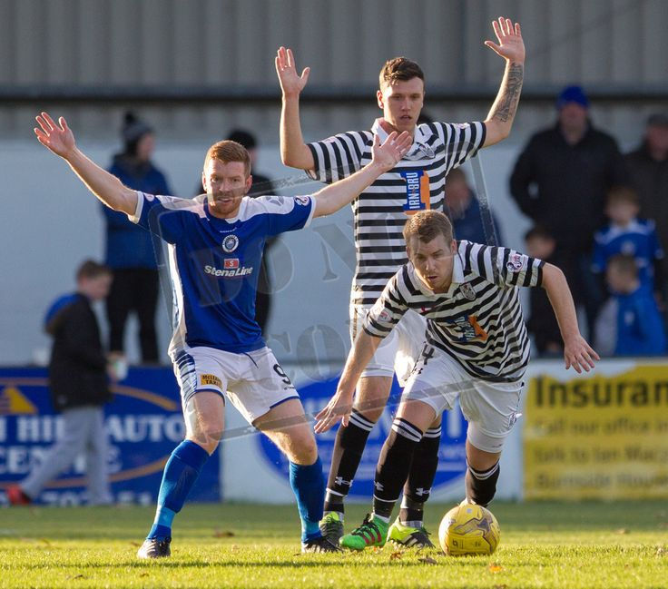 Queen's Park's Jamie McKernon in action during the Ladbrokes League One game between Stranraer and Queen's Park.