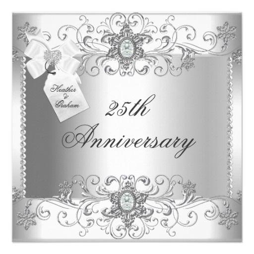 Diamond Wedding Invitation Label: 17 Best Images About Anniversary Invitations On Pinterest