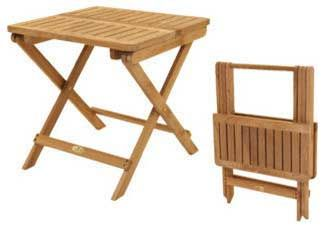 Meja Lipat kayu Jati