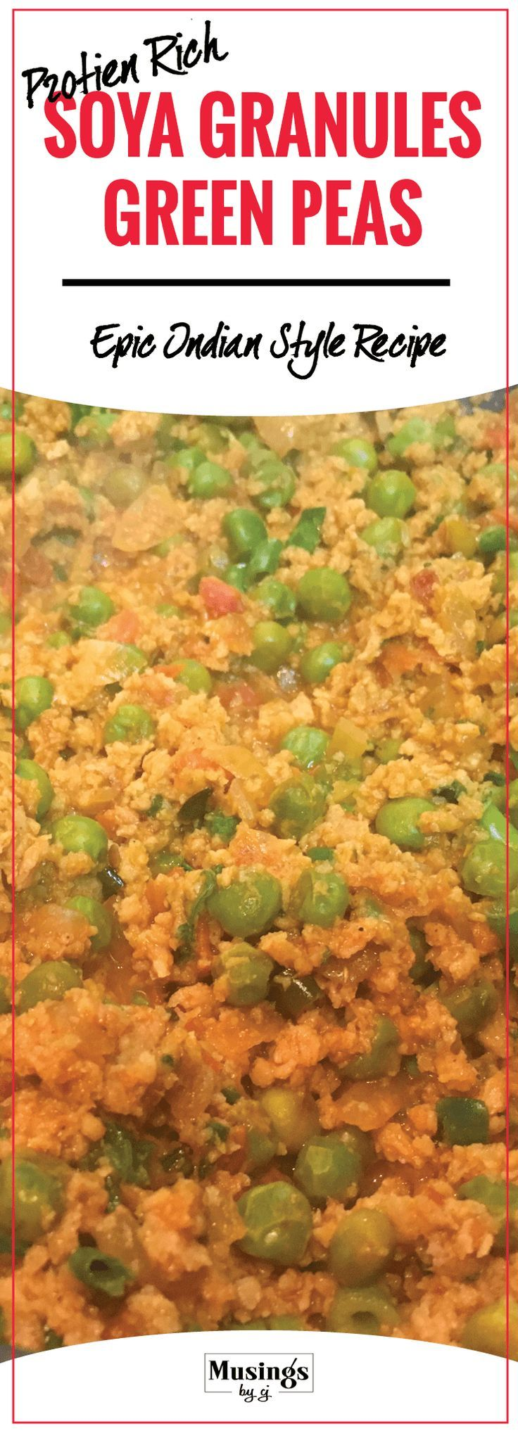 Learn how to make Healthy Dry Soya Granules and Green Peas. Completely Vegetarian and Protein Rich. Prepared in Indian Style.  It makes a healthy meal option for those wanting to lose weight. Soya acts as a meat substitute and is full of proteins.