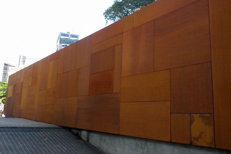 Painéis de aço cortén NaturaCor® / Coppermax