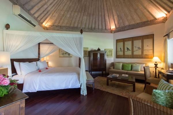 Master bedroom at The Orchard House, Seminyak, Bali