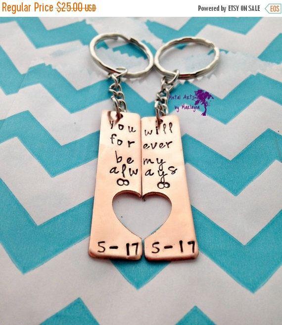Liefje Key Chains Valentijnsdag Infinity door DesignsbyMarlayna