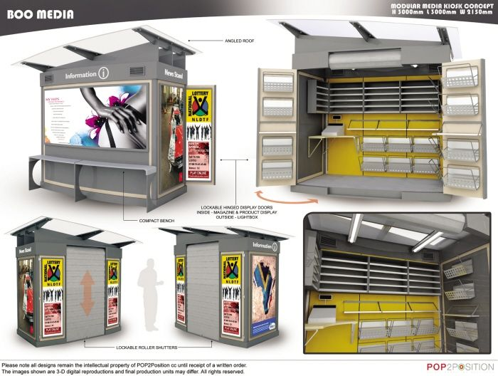 Exhibitions - Promotional Stands by Alp Germaner at Coroflot.com