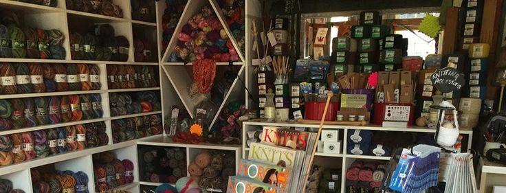 Becky's Knit & Yarn Shop Lockeport, Nova Scotia, Canada.