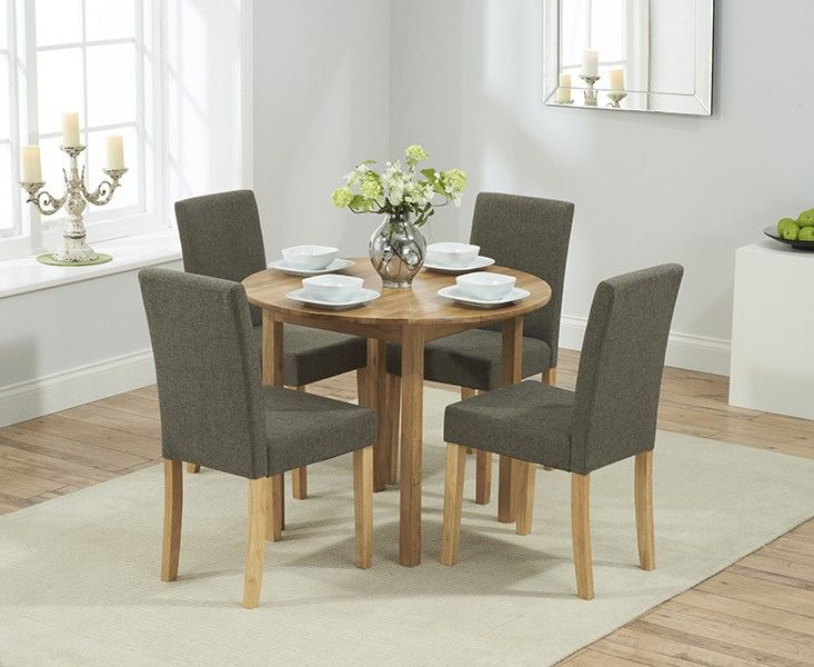 Buy The Oxford Solid Oak Extending Dining Table With Mia Chairs At Furniture Superstore