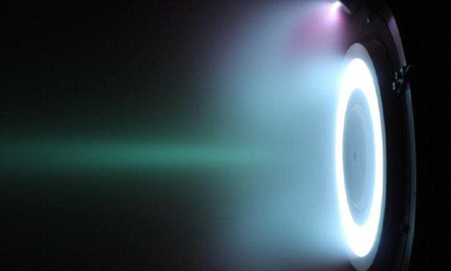 ESA test-fires radical 'air-breathing' ion thruster that could keep satellites in low orbit for YEARS without propellant - ESA's incredible 'air-breathing' thruster can pull molecules from the upper atmosphere, meaning satellites equipped with the technology could operate in very low orbits for long periods of time.