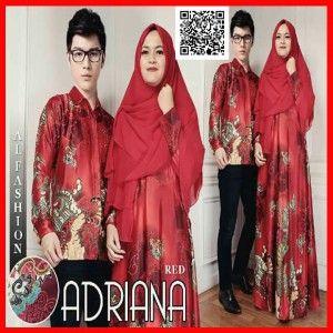 batik couple adriana MGS29 merah