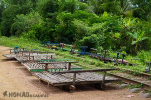 Bamboo Trains Battambang