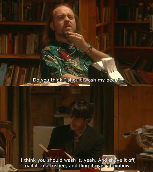 Black Books - Manny's Beard