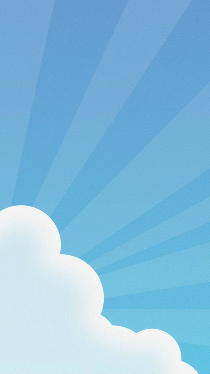 CLOUD AND SKY BURST, IPHONE WALLPAPER BACKGROUND