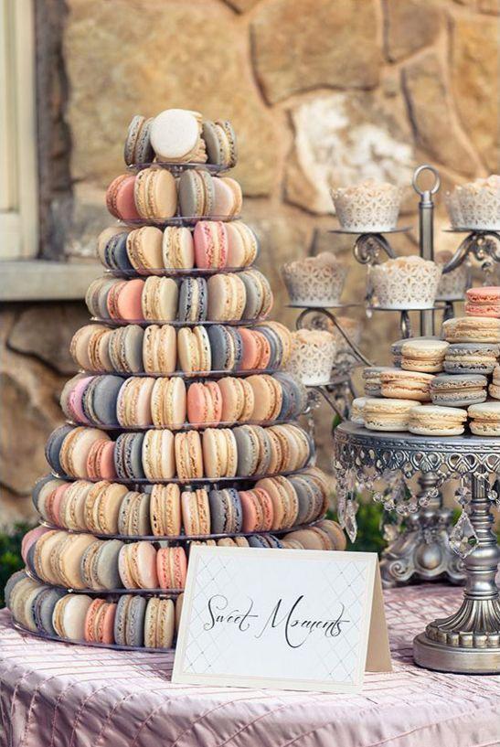 chic wedding cake alternatives; Featured Cake: Designer Delights