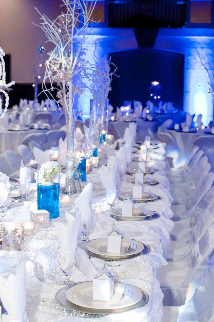 Grand Head Table For Winter Wedding At Bella Sera