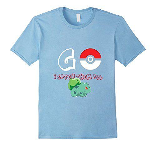 Men's Pokeball Poke-mon GO glumanda T-shirt / Starshirt 2...…