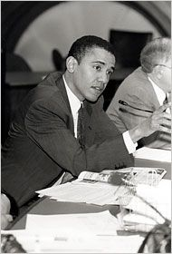 <b>He was a community organizer, a civil rights attorney, then a law professor.</b>