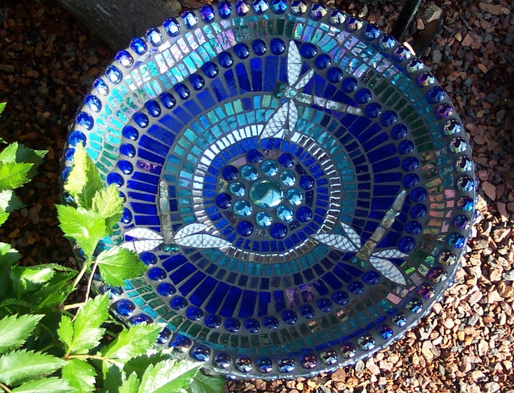 Dragonfly inspiration for upcoming birdbath project