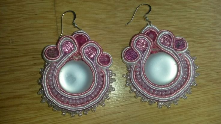 Handmade soutache earrings