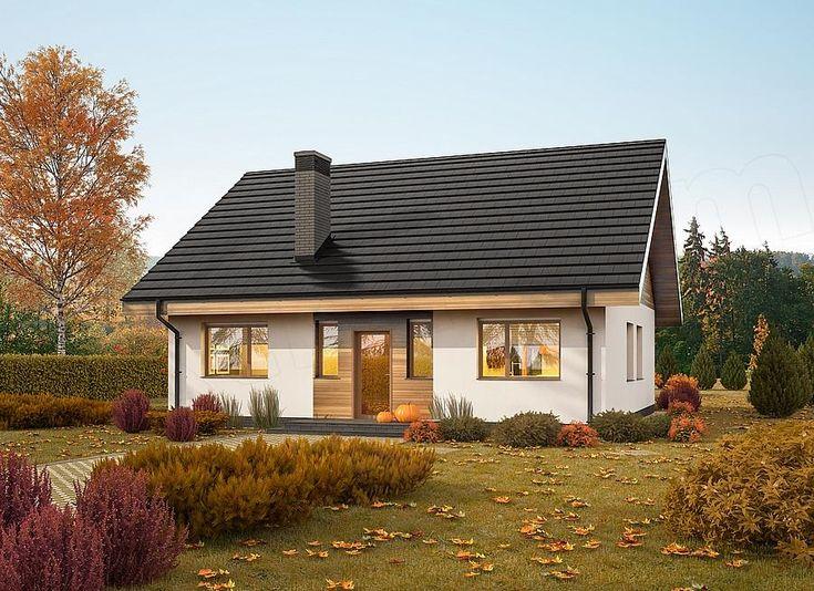 Projekt domu Murator C333d Miarodajny - wariant IV 86 m2 - koszt budowy 116 tys. zł - EXTRADOM
