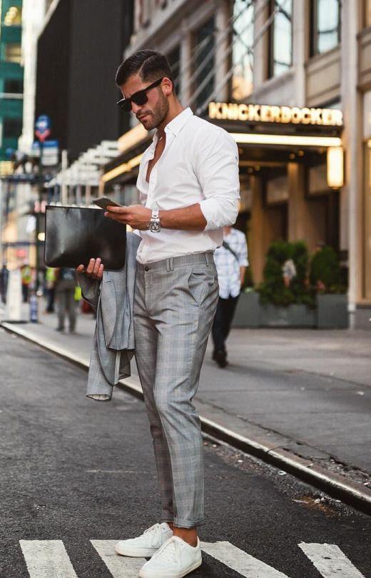6c3934cef78b0 Macho Moda - Blog de Moda Masculina  CALÇA XADREZ MASCULINA  Como Usar no  dia a dia  Moda Masculina