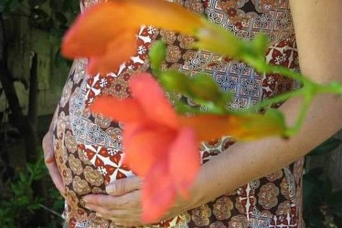 Blessingway Pregnant Mom