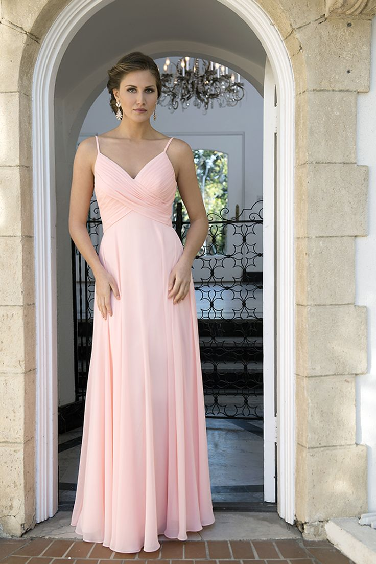 124 best bridesmaids images on pinterest bridesmaids venus and v neckline with spaghetti straps rouched bodice with a long straight skirt fabrics wedding bridesmaid dressesbridesmaidsbridal ombrellifo Gallery