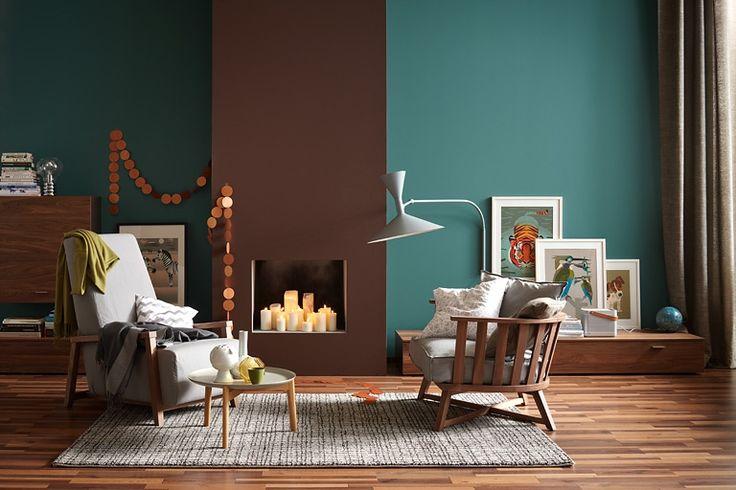 Räume mit Farbe behaglich gestalten