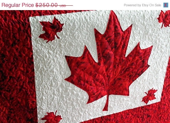 68 best Canadian Flag images on Pinterest | Quilt block patterns ... : canadian quilts for sale - Adamdwight.com