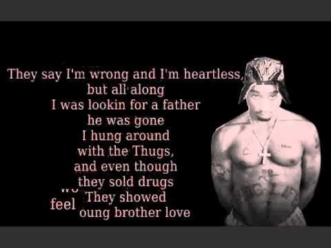 ▶ Dear Mama (lyrics) - Tupac - YouTube