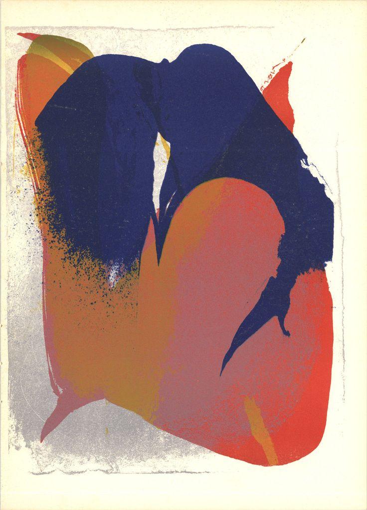 paul jenkins artist technique