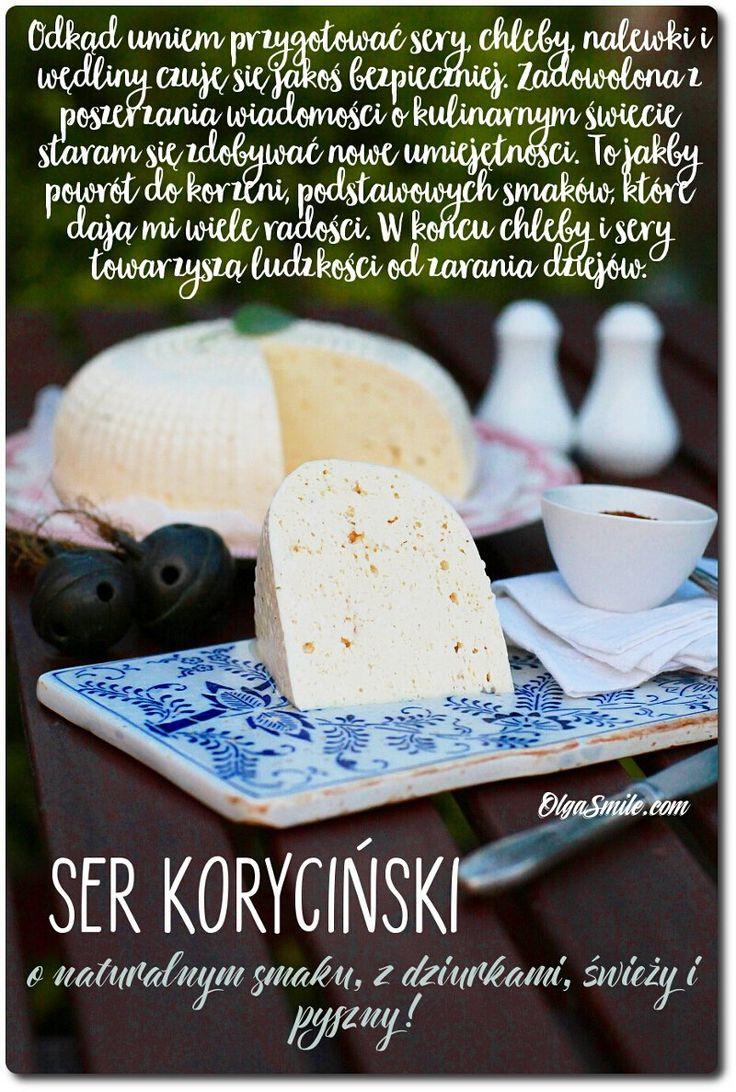 Ser koryciński  Dzisiaj mam niespodziankę czyli przepis na ser koryciński! Ponieważ robienie domowych wyrobów mnie fascynuje to ser koryciński też znalazł swoje miejsce w mojej kuchni. Tyle razy pokazywałam już chleby oraz bułki zagniatane i pieczone