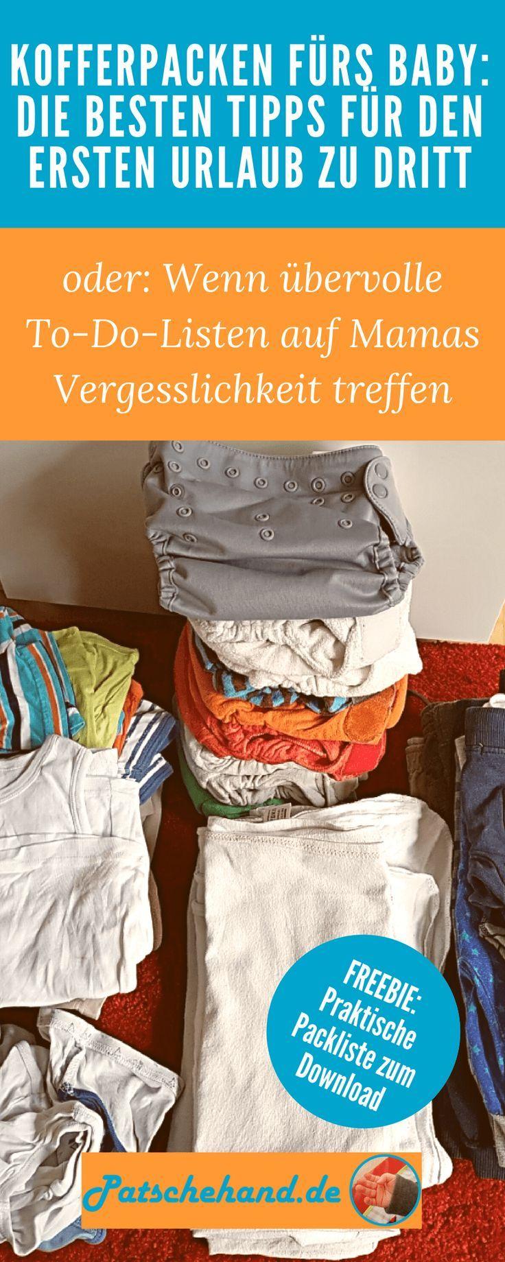 Baby, ab an die Ostsee: Kofferpacken für den ersten Urlaub zu dritt – Bi Bo