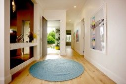 Entryway   The Home Team   Channel 10   Godfrey Hirst   Hardflooring   Get the look with Regal Oak Handcrafted in Dover  #godfreyhirst #hardflooring #diy #renovation