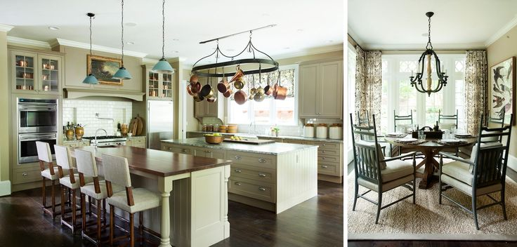 fabulous country kitchen design and dining nook by Westbrook Interiors | » Paces Ferry
