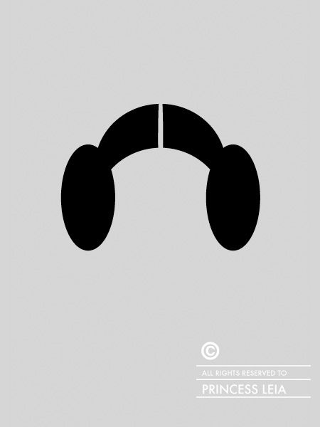Series of clever illustrations by Patricia Povoa features iconic hairstyles of famous people and fictional characters.